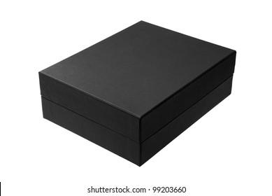 Black box isolated on white - #2