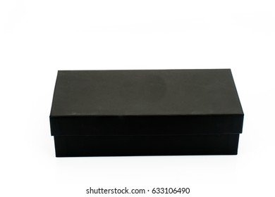 black box on white background