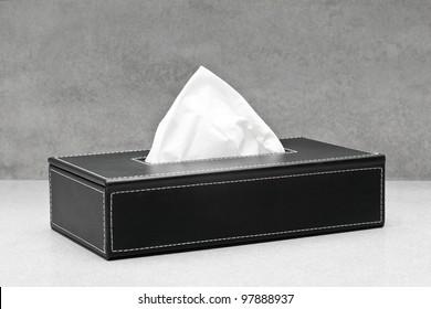 Black box of tissue