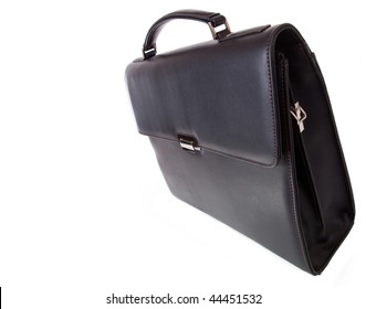 Black briefcase for laptop