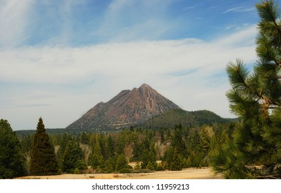 Black Butte by Mount Shasta, California