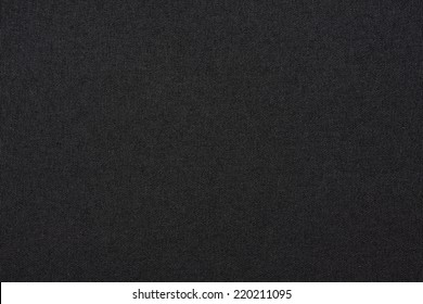 Black canvas background or texture