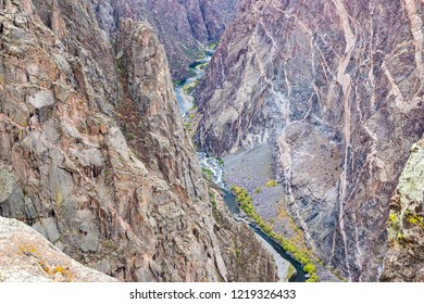 The Black Canyon of The Gunnison in Colorado