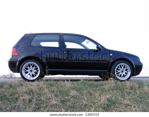 Black car profile
