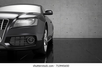 Black car wallpaper