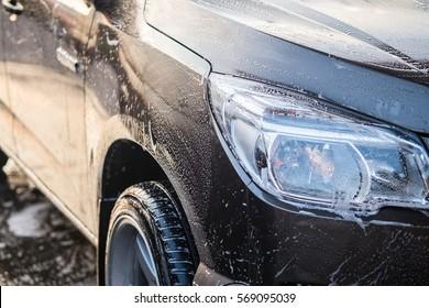Black car wash