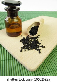 Black caraway seeds and oil