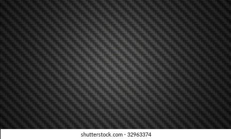Black carbon fiber background texture illustration in widescreen 16x9 aspect ratio.