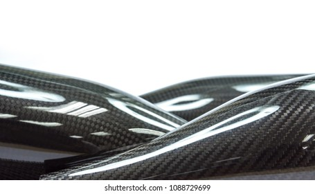 Black carbon fiber composite product background