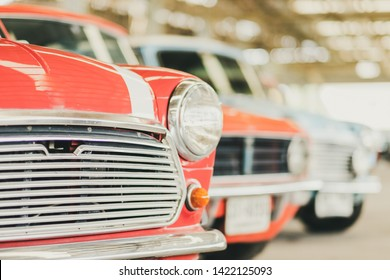 Black cars Burning car Fire suddenly started engulfing all the car Closer Look at smoke Classic car interior Analog speedometer and classic tachometer on dashboard classic gauge and steering column