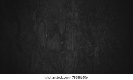 Black cement wall texture backgrounds