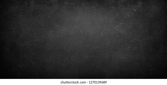 black and chalk board texture background