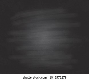 Black chalkboard background with grain texture.