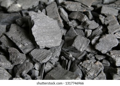 Black charcoal background