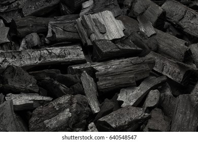 Black charcoal texture background