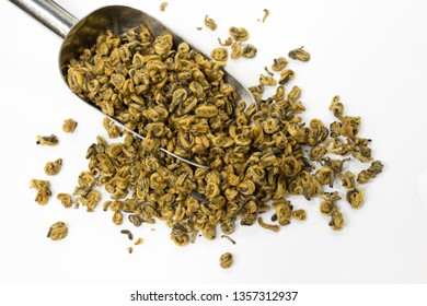 Black Chinese tea loose gold snail