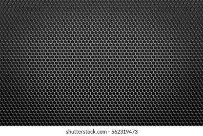 black circular background