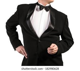 Black Classic Tuxedo.Fashion