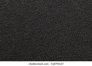 black cloth as background