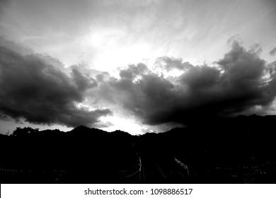 The black clouds
