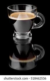 Black coffee espresso.