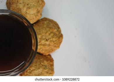 Black coffee and Rice Cookies