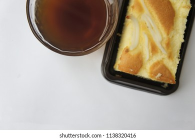 Black coffee with Thai snack