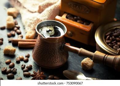 Black coffee in turkey