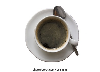 black coffe-isolated