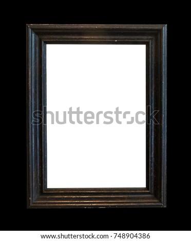 Black Color Frame Corner Vintage Background Stock Photo (Edit Now ...