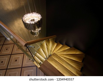 Black Concept Stairs Hall