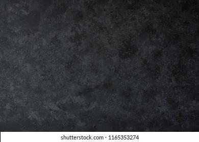 Black concrete wall for a background