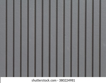 Black corrugated metal background and texture surface