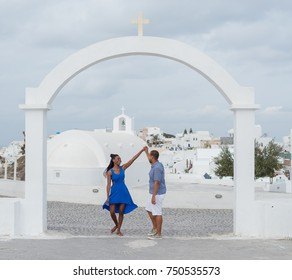 Black couple engagement