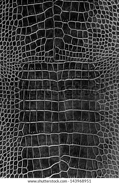 Black Crocodile Skin Texture Wallpaper Stock Photo Edit Now 143968951
