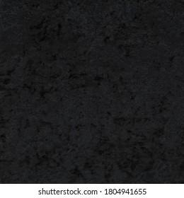 Black crushed panne velvet fabric texture
