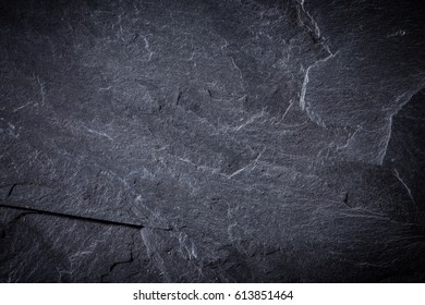black or dark gray slate texture, abstract background