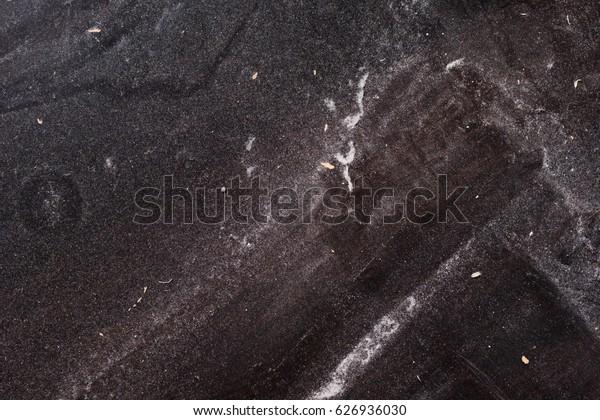 Black Dusty Industrial Background