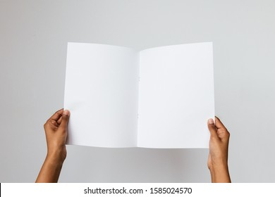 Holding A3 Paper Images Stock Photos Vectors Shutterstock