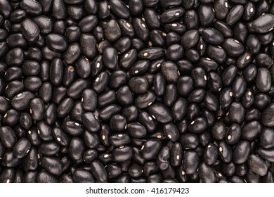 black Eyed Peas organic, Closeup macro shot.