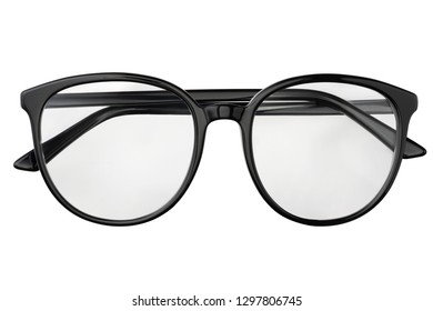 cb5d74ce63 round glasses. Black eyeglasses in round frame transparent for reading or  good vision