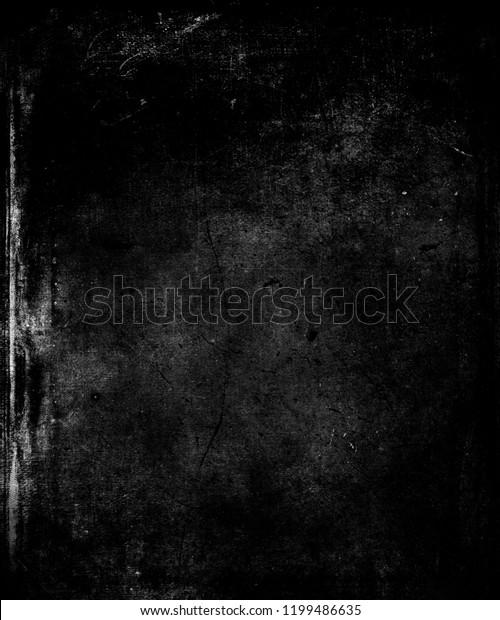 Black Fabric Grunge Texture Background | Royalty-Free Stock Image