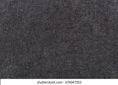 black fabric texture background.