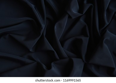 Black Fabric Texture Pattern Background