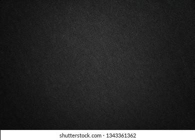 e62caaf84 Black fabric texture. Textile background with vignette