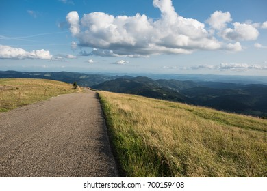 black forest south west germany view from Belchen 1415m
