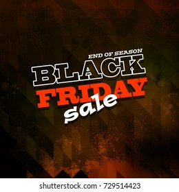 black friday sale background, illustration clip-art