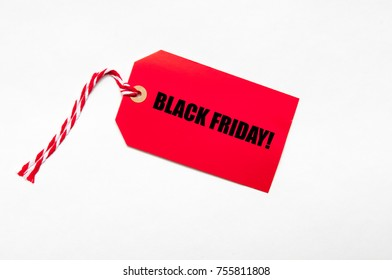 Black Friday sales tag for black friday offers, sales, price reduction