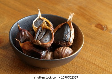 Black garlic ( ferment black garlic)