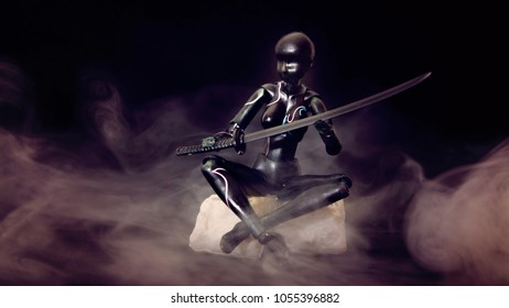 Woman Sitting Sword Images Stock Photos Vectors